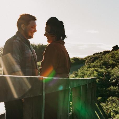 Lee & Emma // Couples Shoot at Hob Hole