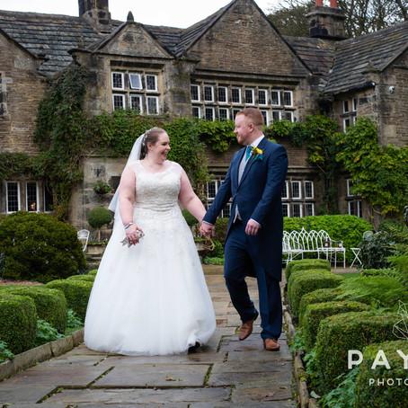 Katy & Paul // Wedding Photography at Holdsworth House, Halifax