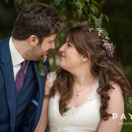 Katie & Nathan // Wedding Photography at St Johns Church, Elton