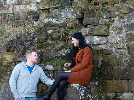 Sam & Gary - A Reluctant (but lovely) Pre-Wedding Shoot