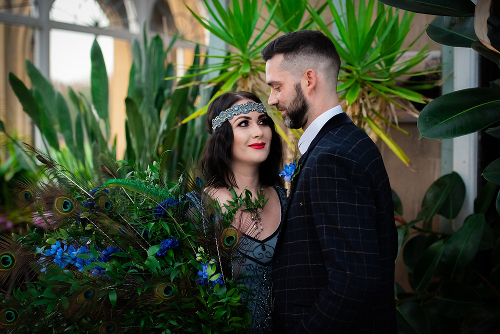 1920 styled wedding shoot