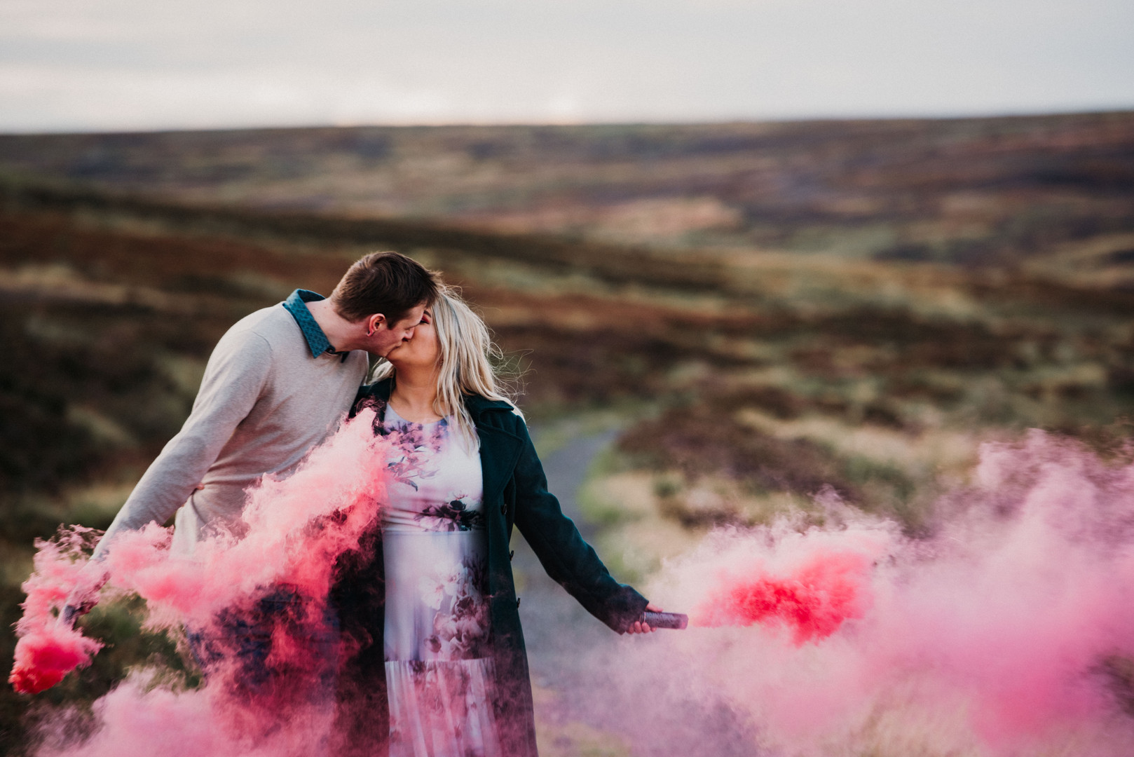 Lais and Joe - North Yorkshire Engagemen