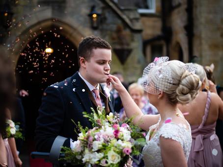 Becca & Joe // Wedding Photography at Grinkle Park Hotel, North Yorkshire