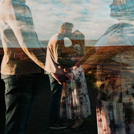 Lais & Joe // Couples Shoot on Blakey Ridge