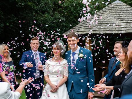 Kim & James // Wedding photography at Bannatynes, Darlington