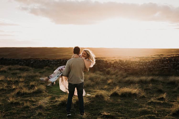 Lais and Joe - North Yorkshire Engagemen