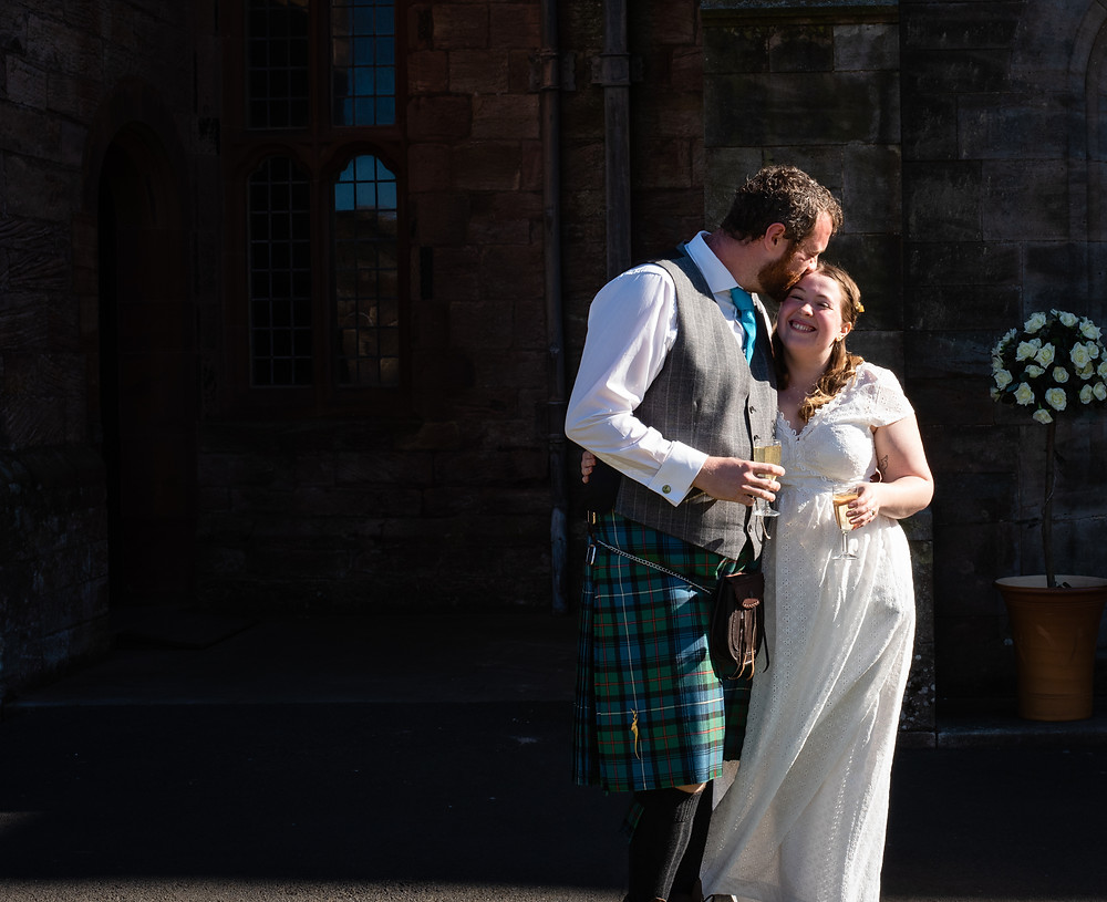 bamburgh castle wedding photography