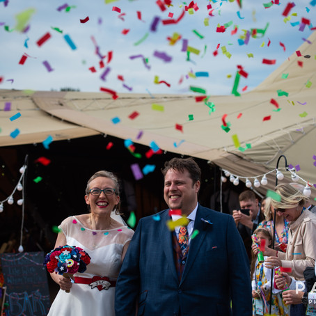 Chris & Sammy // Wedding Photography at Westfield Farm, Sherburn