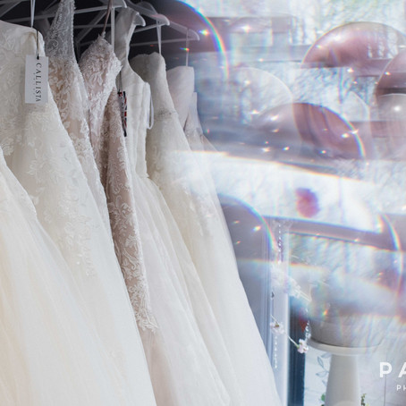 Commercial Photography // The Silver Sixpence Curvy Bridal Boutique Opening Day