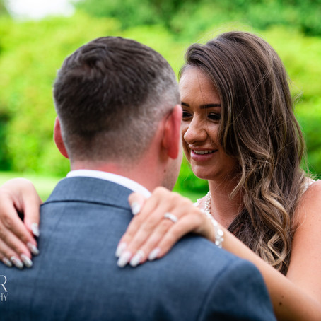 Sarah & Kyle // Wedding Photography at Grinkle Park Hotel