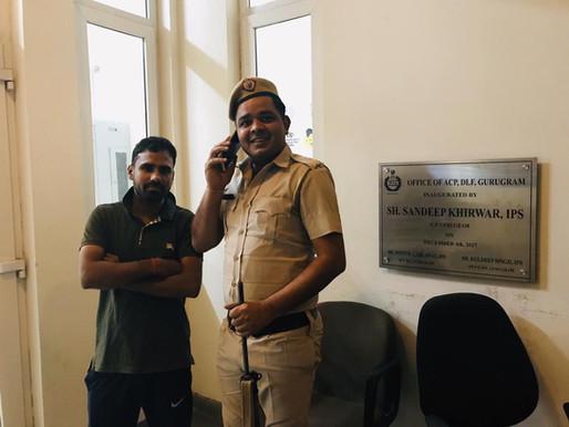 インドで警察に駆け込んだ