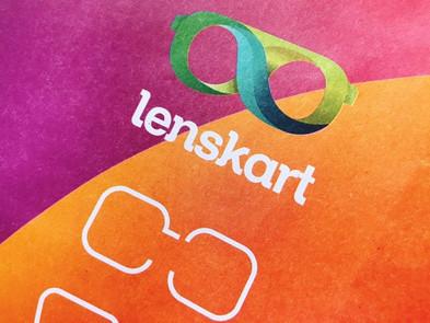 インドでめがね作ってみた @Lenskart