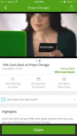 Groupon Cash Back Deals