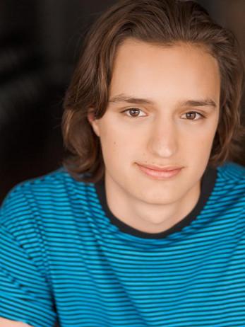 Teen Actor headshot makeup