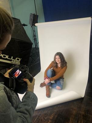 Headshot photoshoot with Kelly Maier Pho