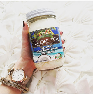One, Two, Three! Coconut Oil for You and Me!