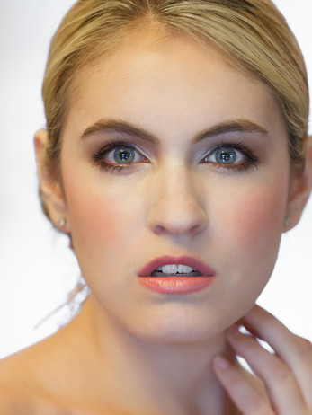 American Bridal makeup