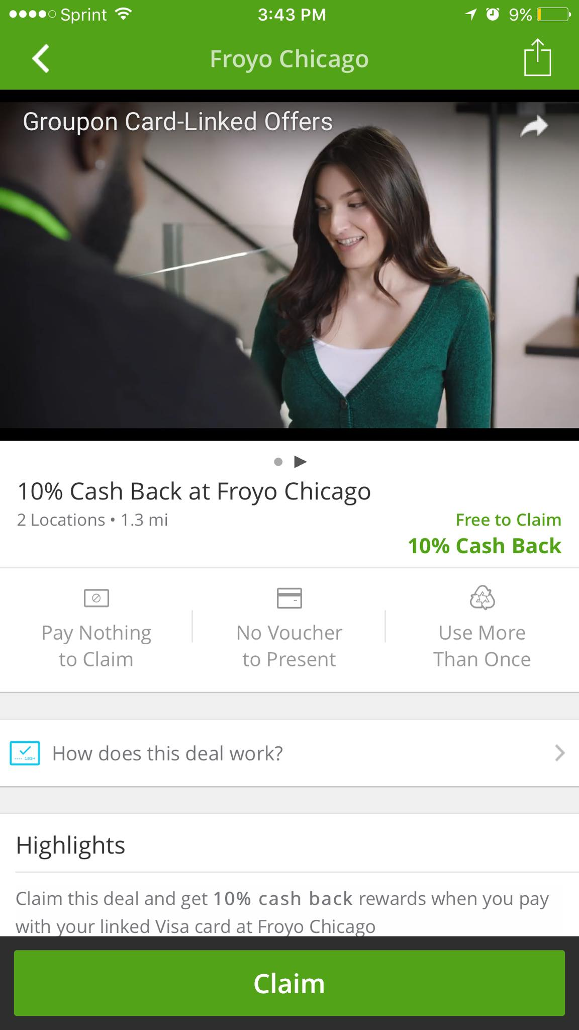 Groupon App Preview