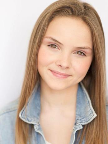 Pre-teen actress headshot makeup