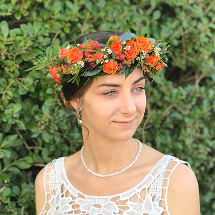 Everyone loves a flower crown....! These