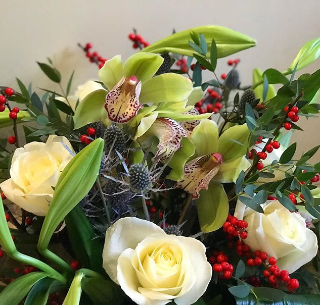 Bring on the Christmas bouquets - this b
