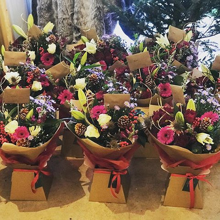 10 Christmas Bouquets that went out to a