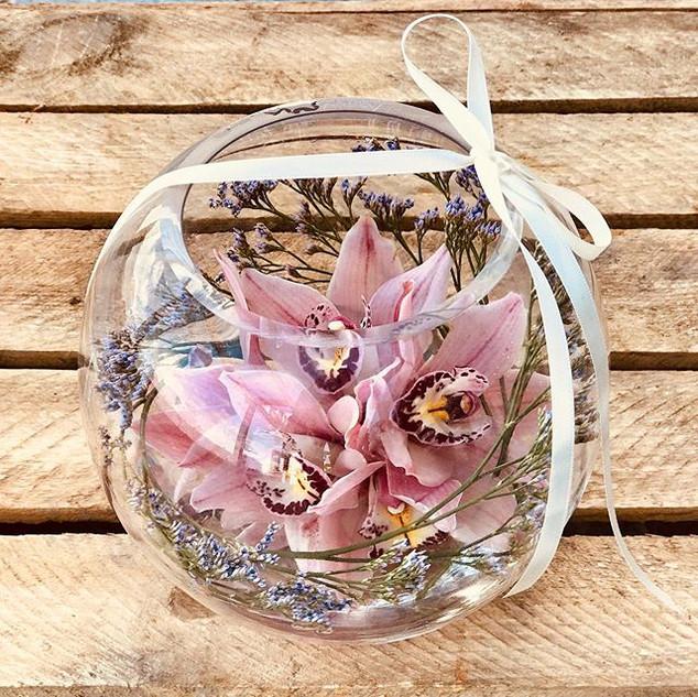 Pretty little orchid bowls to brighten u