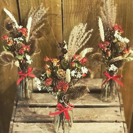 Dried flowers are the new trend of 2020