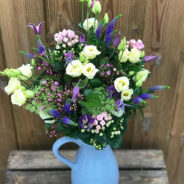A Mother's Day jug of flowery loveliness
