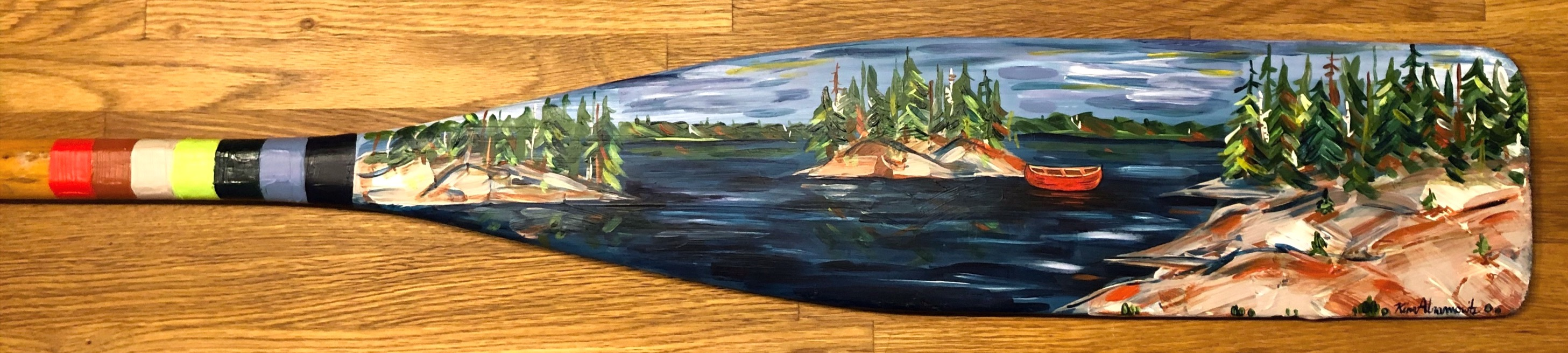 Painted Paddle 5