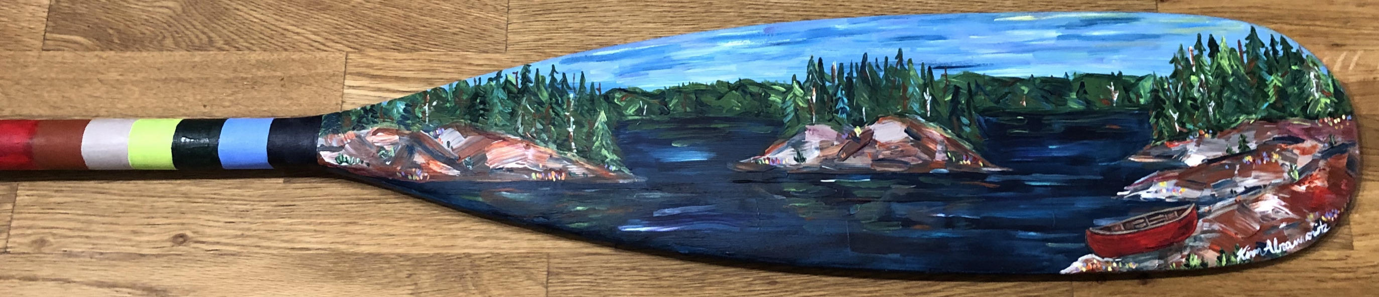 Painted Paddle 7