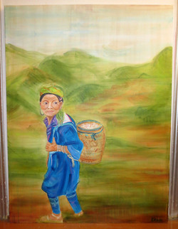 Sapa Hills Tribe Woman