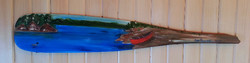 Painted Paddle