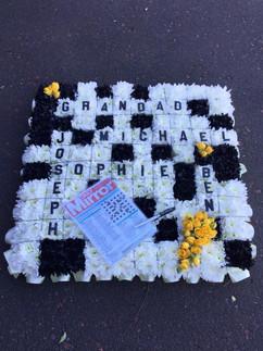 Leann's Flowers funeral tribute