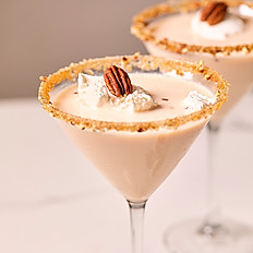 Bourbon Pecan Pie Martini