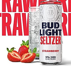 Bud Light Strawberry Seltzer