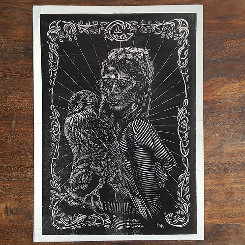 Hawklady print -  Limited Edition