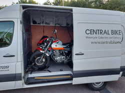 Professional Motorcycle Transportation