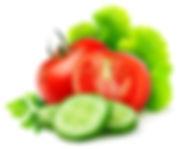 Fresh Fruit Vegetables and Salads