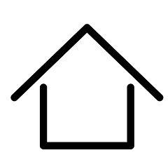 home-sign-symbol-house-outline-modern-de