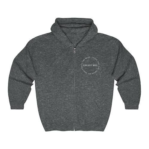 """Motto"" Unisex Heavy Blend™ Full Zip Hooded Sweatshirt"