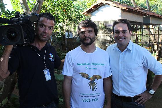 Participação da Asas e Amigos no programa Balanço Geral Minas