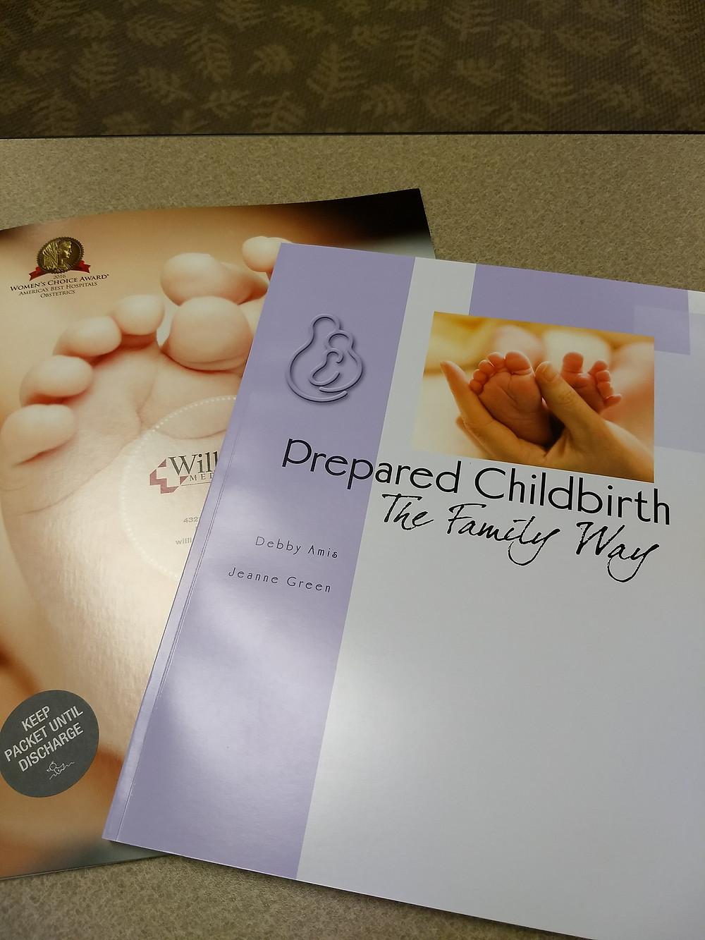 Childbirth Class books