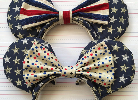 Stars, Stripes, and Dots Ears