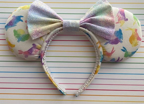 Watercolor Bunny Ears