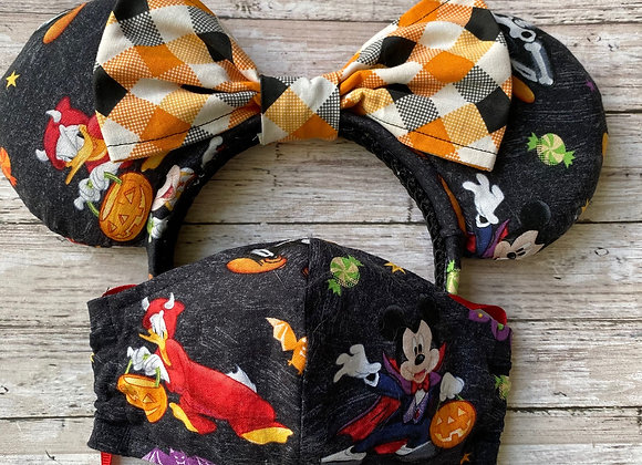 Fab5 Trick or Treat Ears