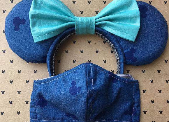 Denim Mouse Ears