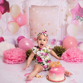pastel pink cake 1