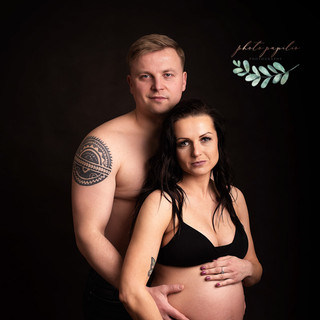 maternity couple black one
