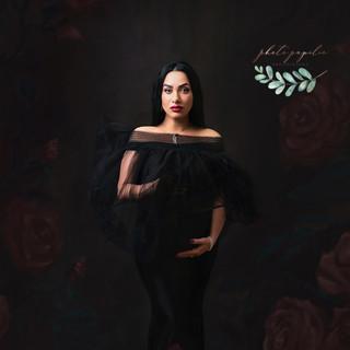 maternity black dress one